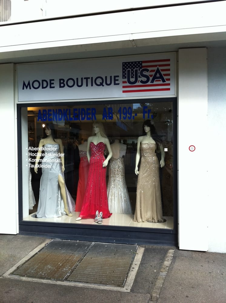 Mode Boutique USA - Damenmode - Badenerstrasse 144, Kreis 4, Zürich ...