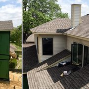 Our Client Had Leaks Photo Of Net Roofing   Arlington, TX, United States.  Residential Client, Installing ...