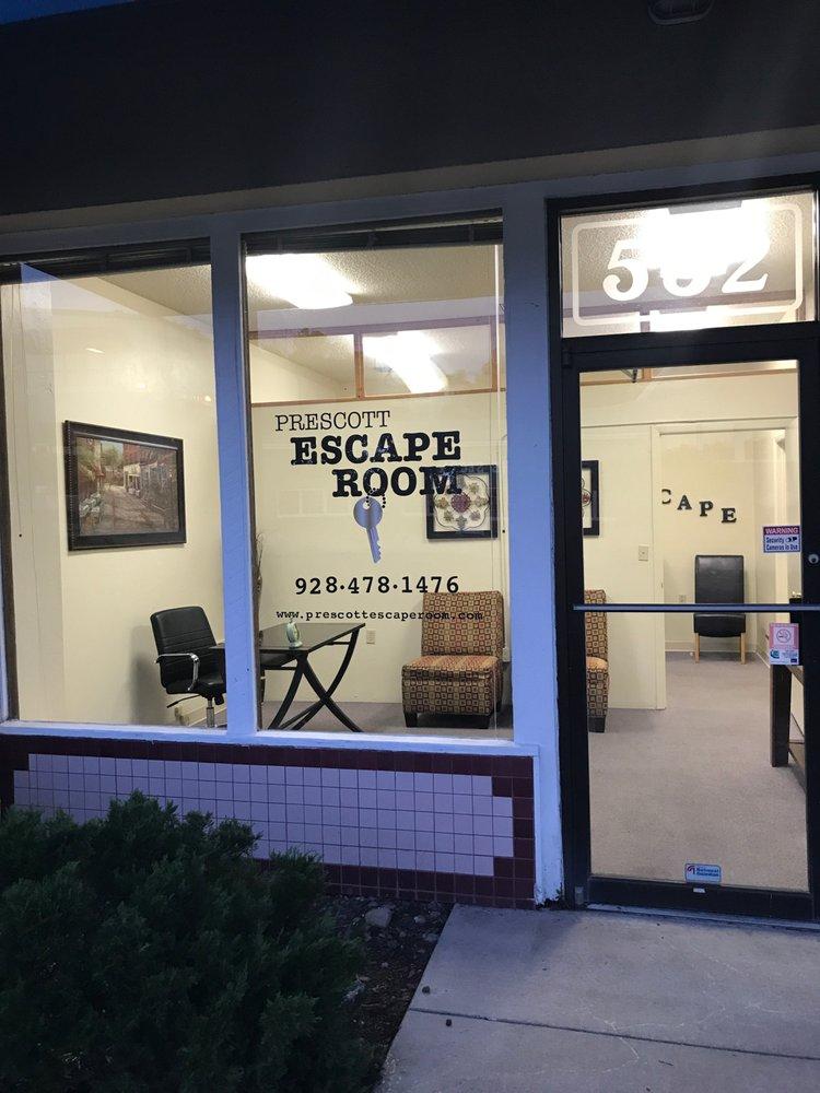 Prescott Escape Room: 532 S Montezuma, Prescott, AZ