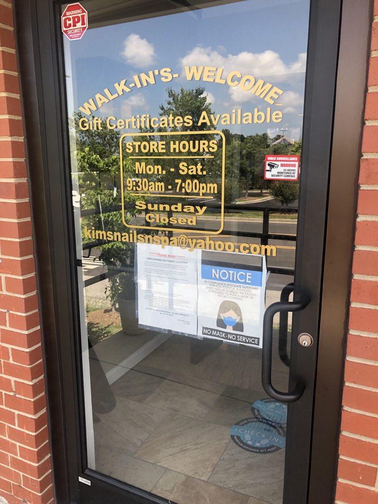Kims Nails & Spa: 214 Faith Rd, Salisbury, NC