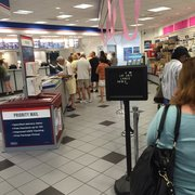 long lines in season photo of usps naples fl united states the line