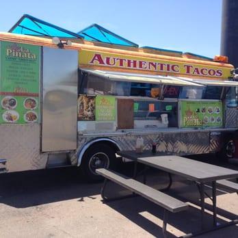 La Pinata 16 Photos 16 Reviews Food Trucks 154 S Macaurthur