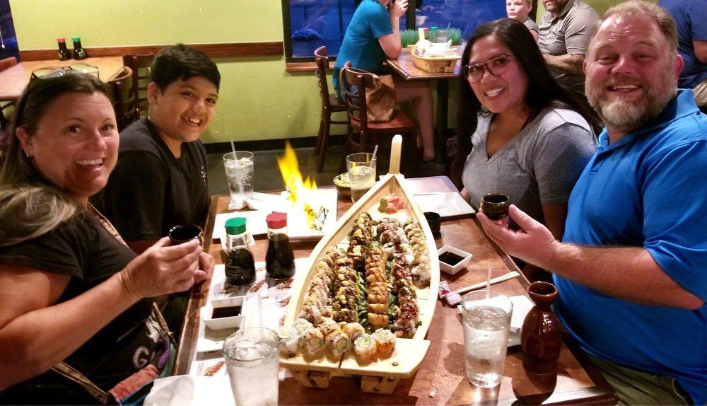 Sake Sushi Bar and Grill: 1325 Central Park Dr, O Fallon, IL