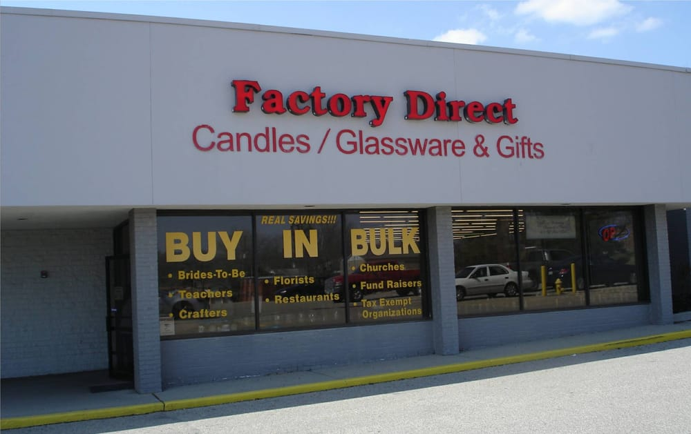 Factory Direct Candles Glassware 13 Photos Candle Stores