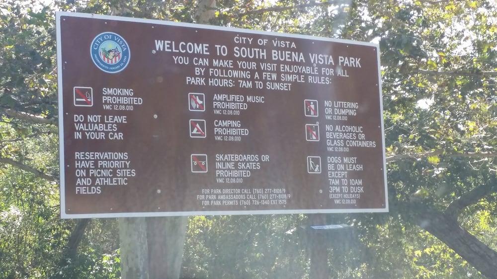 South Buena Vista Dog Park Vista Ca