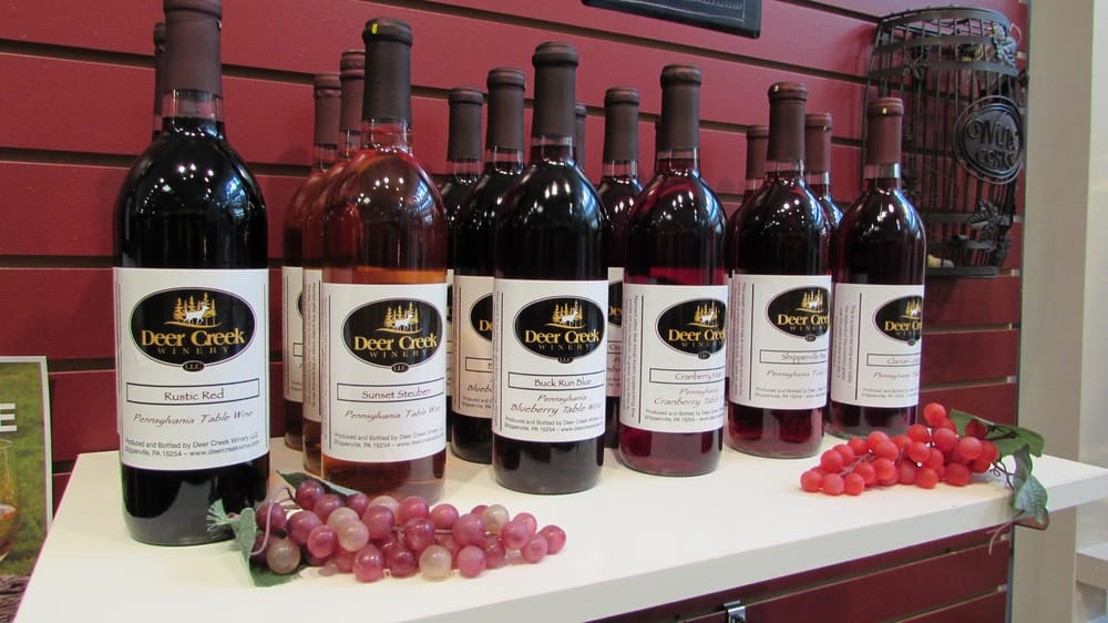 Social Spots from Deer Creek Winery at the Beaver Valley Mall