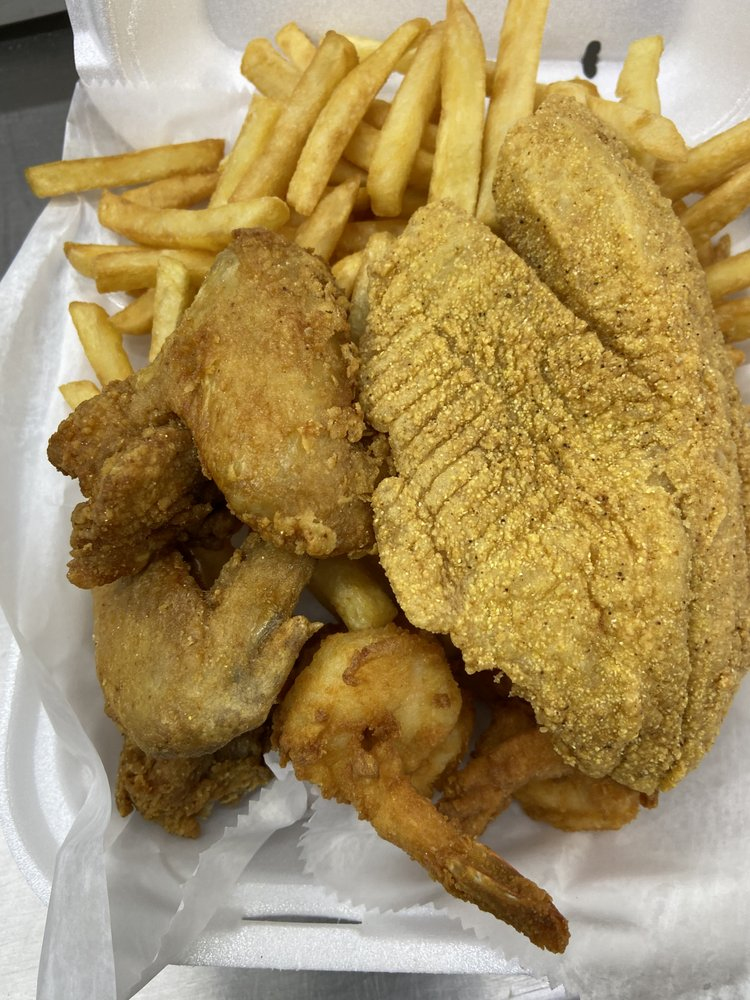 Hook Fish And Chicken