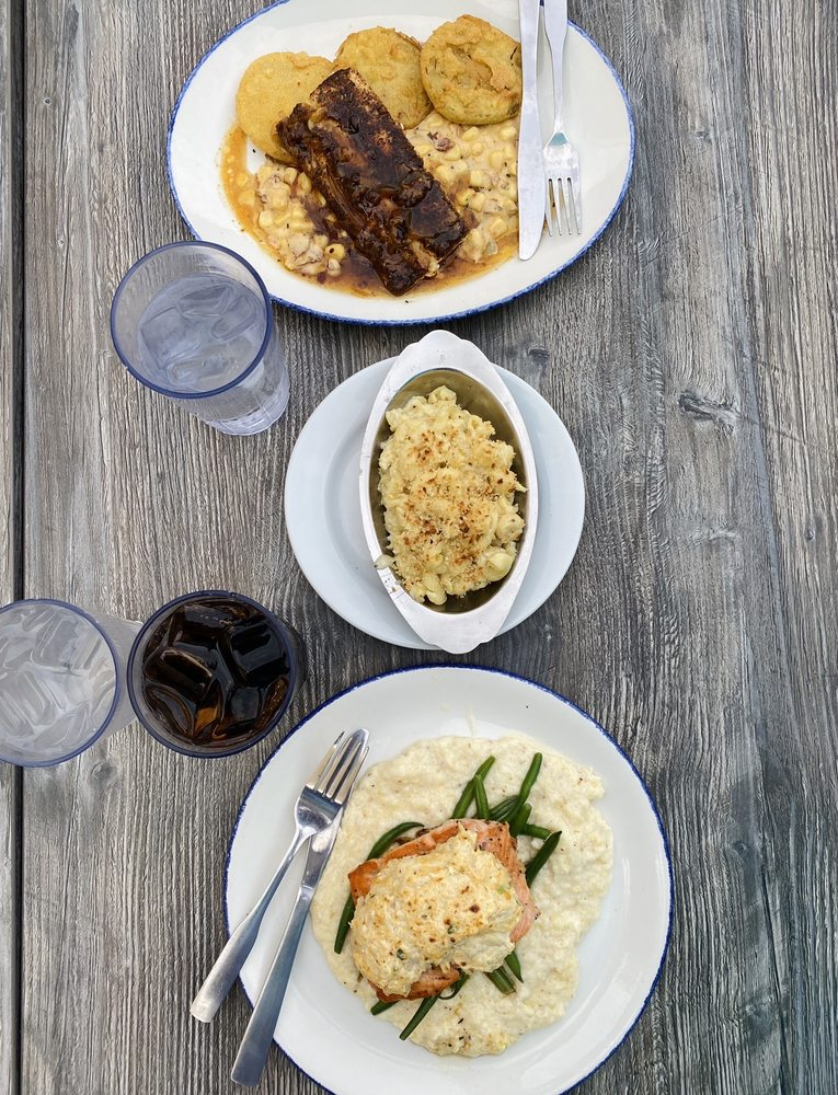 Food from Acme Lowcountry Kitchen