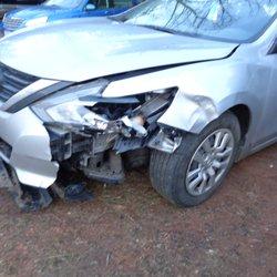 Photo Of Hamiltonu0027s Auto Body   Bealeton, VA, United States. Collision Auto  Body. Collision Auto Body Repair  Before