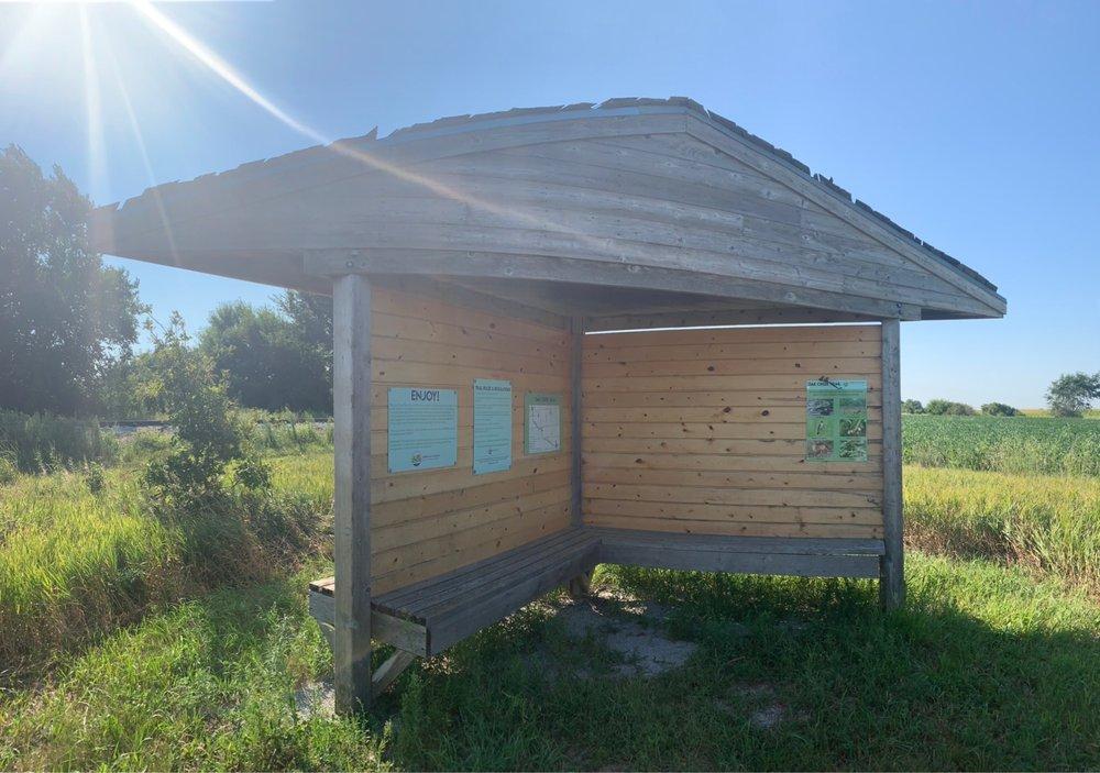 Oak Creek Recreational Trail: County Road 30 and S. Lincoln St, Brainard, NE