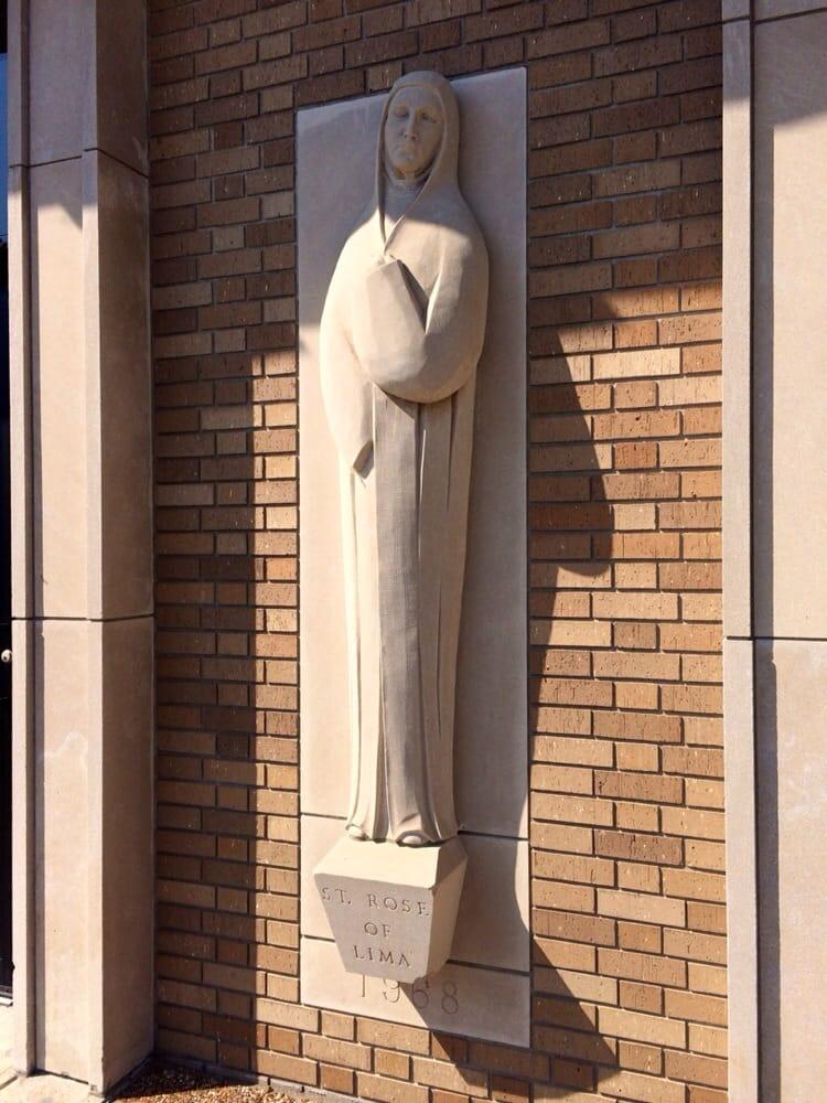 St Rose of Lima Catholic Church: 315 E 3rd St, Metropolis, IL