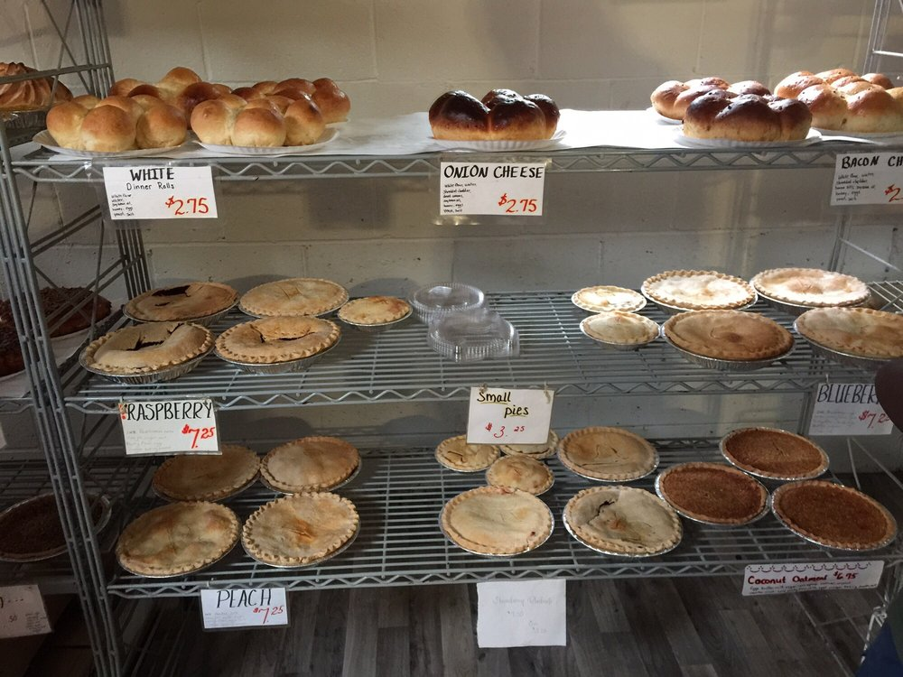 Pleasant View Bakery: N9541 Kiefer Rd, Marcellon, WI