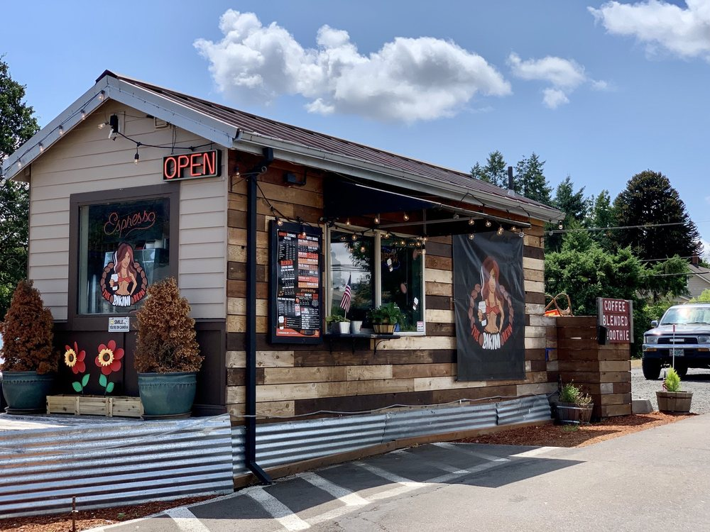 The Bikini Bean: 109 N Hwy 99W, Dundee, OR