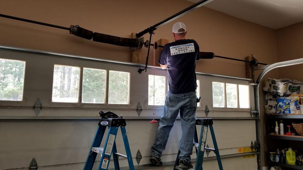 Garage Door Specialist: 5605 Chapel Hill Rd, Raleigh, NC