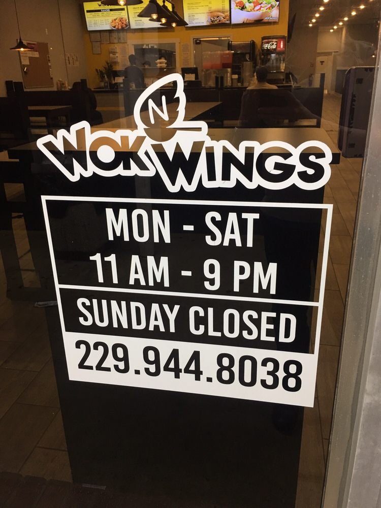 Wok N Wings: 101 W Jefferson St, Americus, GA