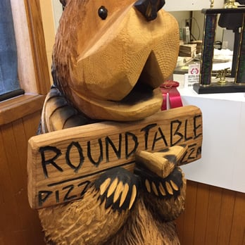 Photo Of Round Table Pizza   Oakhurst, CA, United States. The Cute Bear