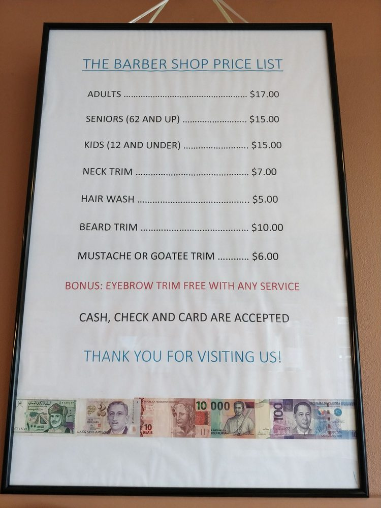 The Barber Shop: 619 SW 153rd St, Burien, WA