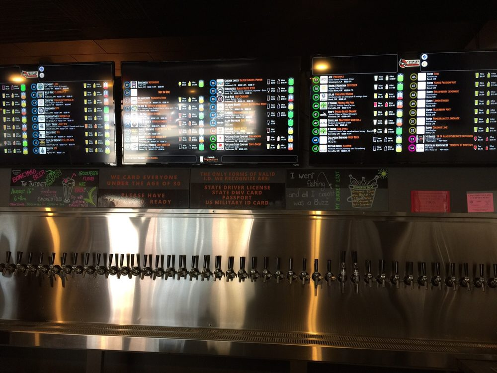 The Growler Garage & Tap House: 229 3rd Ave SW, Albany, OR