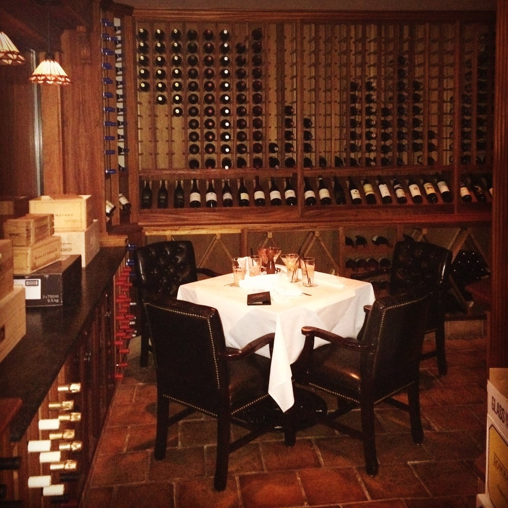 Private Dining In The Wine Room Is My Favorite Table