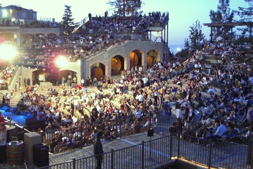 Photo Of The Mountain Winery Saratoga Ca United States July 2010