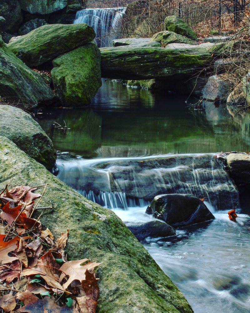 Waterfalls in Central Park: 101st to 106th St E & W, New York, NY