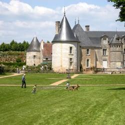Ch teau et jardins de la chatonni re parks route de for Le jardin de la france