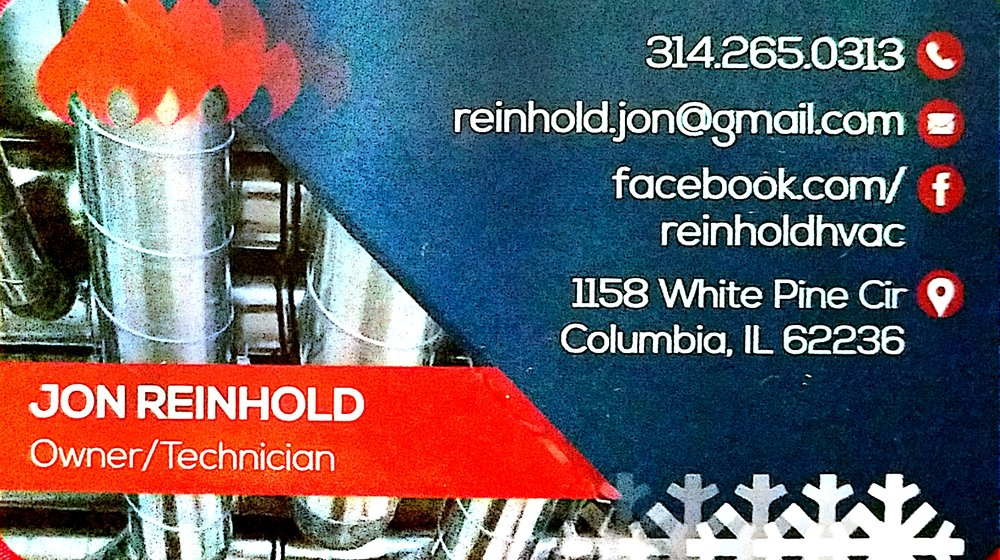 Reinhold Heating & Cooling: 1158 White Pine Cir, Columbia, IL