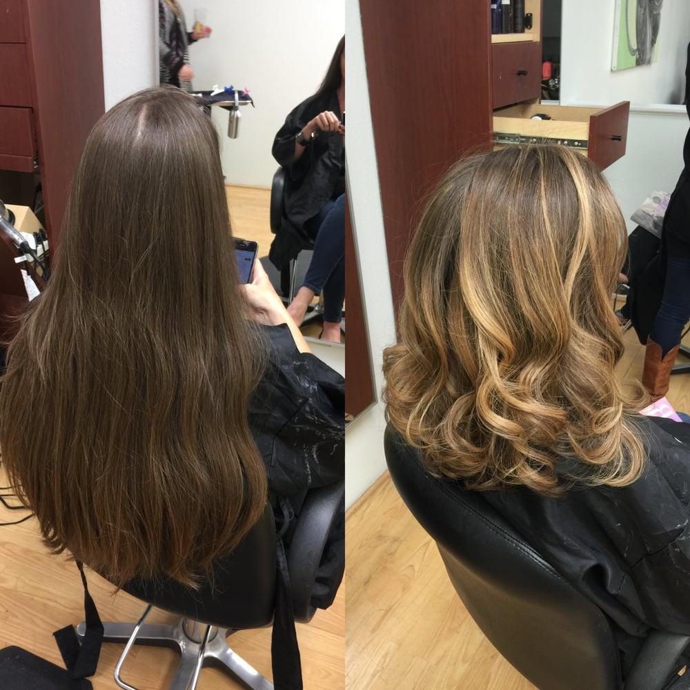 Natural Long Dark Ash Blonde Hair To Long Bob Lob With Natural Base
