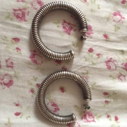 photo of moda vintage buffalo ny united states beautiful italian silver earrings
