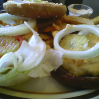 Photo Of The Village Kitchen   San Diego, CA, United States. Cheeseburger U0026