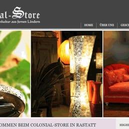 colonial-store - home decor - schillerstr. 41, rastatt, baden ... - Kolonial Living