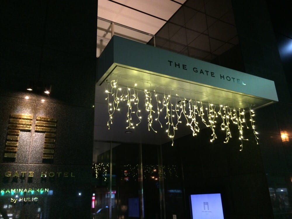 The Gate Hotel Kaminarimon
