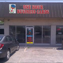 One Hour Business Cards logo