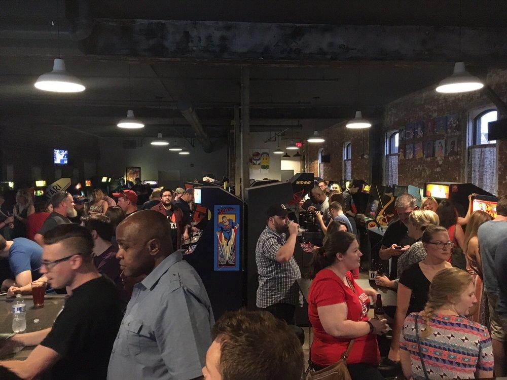 8 Bit Arcade Bar: 236 E Front St, Bloomington, IL