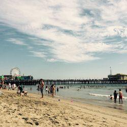 Photo Of Santa Monica Beach Los Angeles Ca United States