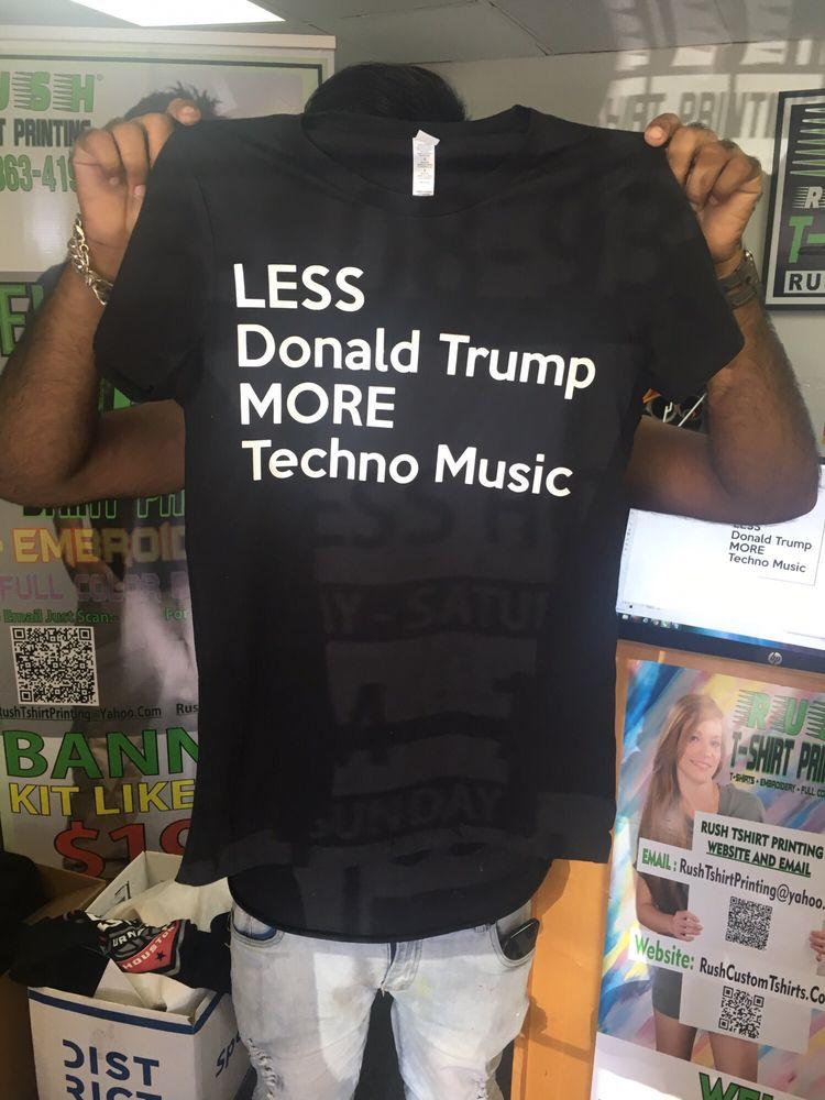 Photos for rush tshirt printing yelp for T shirt printing houston