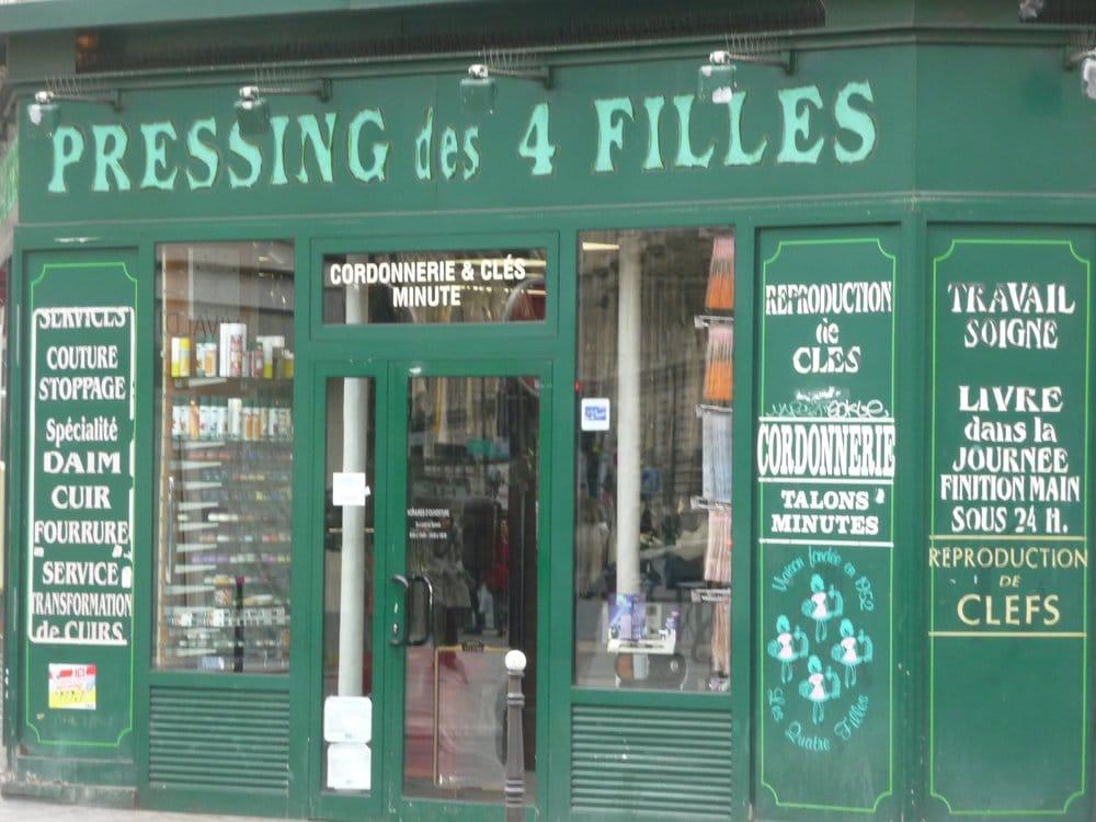 Pressing des 4 filles cordonniers 36 rue de rivoli marais paris num ro de t l phone yelp - Numero de telephone printemps haussmann ...