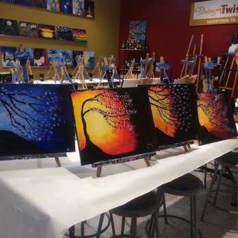 Painting with a Twist Paint & Sip 401 West Chester Pike
