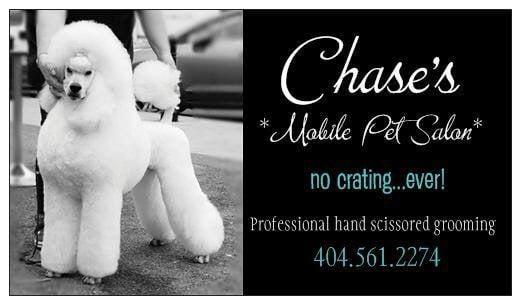 Chase's Mobile Pet Salon: Milner, GA