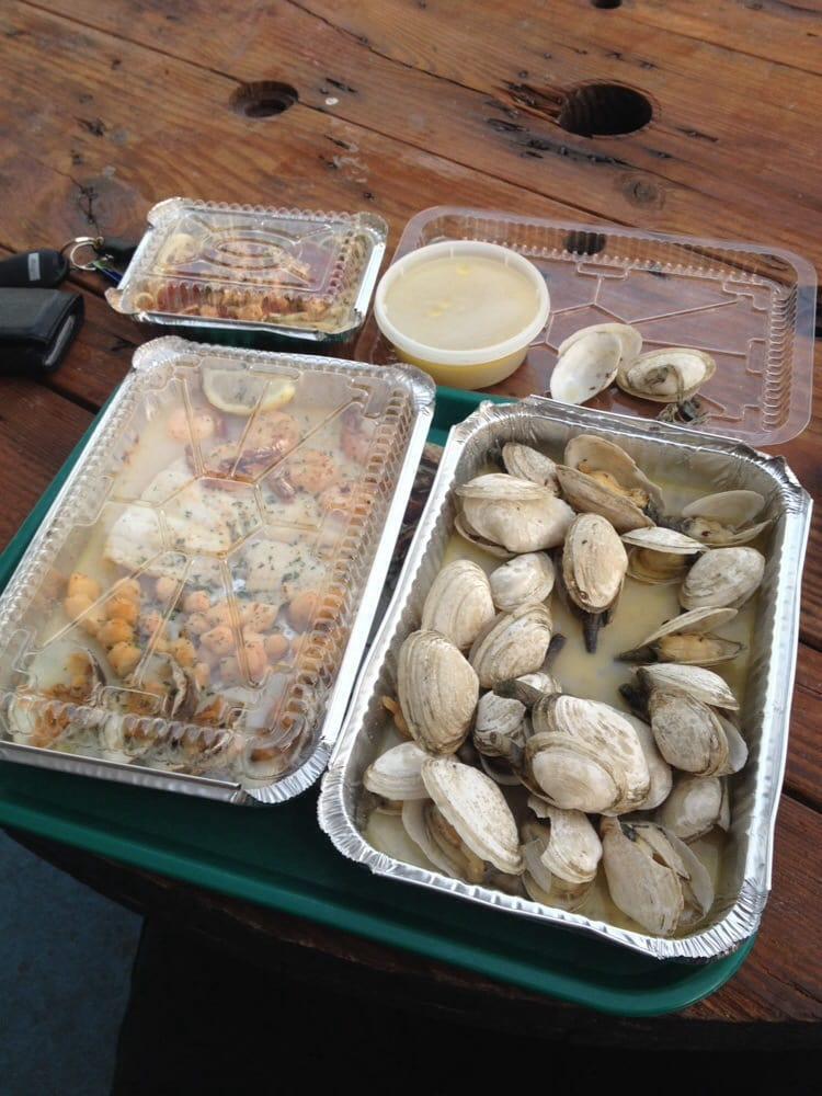Steamers and the broiled combo yelp for White cap fish