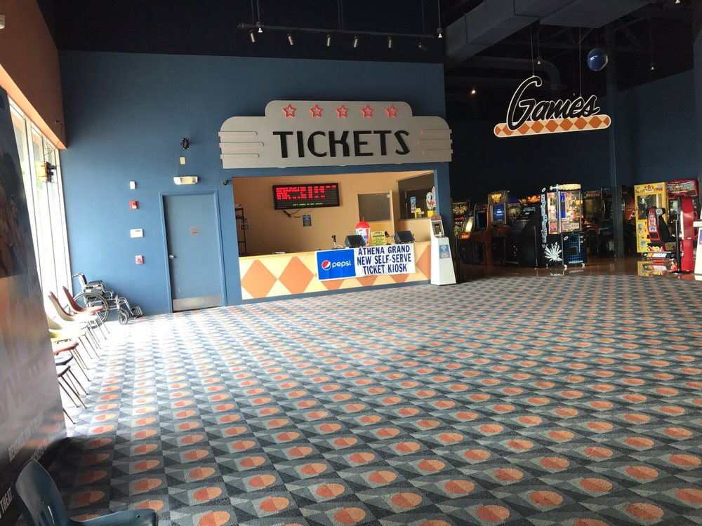 Athena Grand Movie Theater: 1008 E State St, Athens, OH
