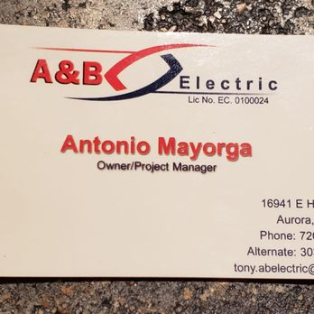 A&B Electric - Electricians - Aurora, CO - Phone Number - Yelp