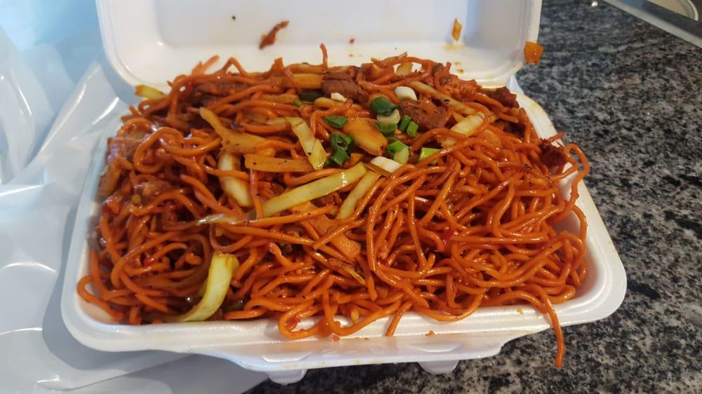Manchurian beef chowmein $8.49 - Yelp