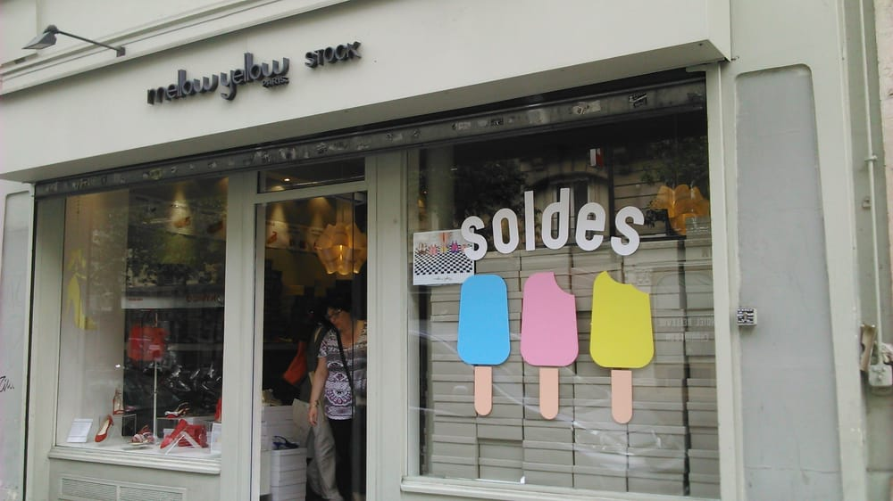 Mellow yellow magasins de chaussures 32 rue turbigo arts m tiers rambuteau paris - Magasin mellow geel ...