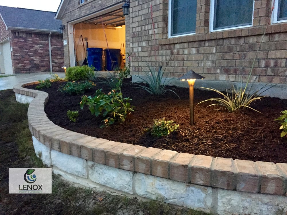 Lenox landscaping irrigation 12 photos tree services for Landscaping rocks midland tx