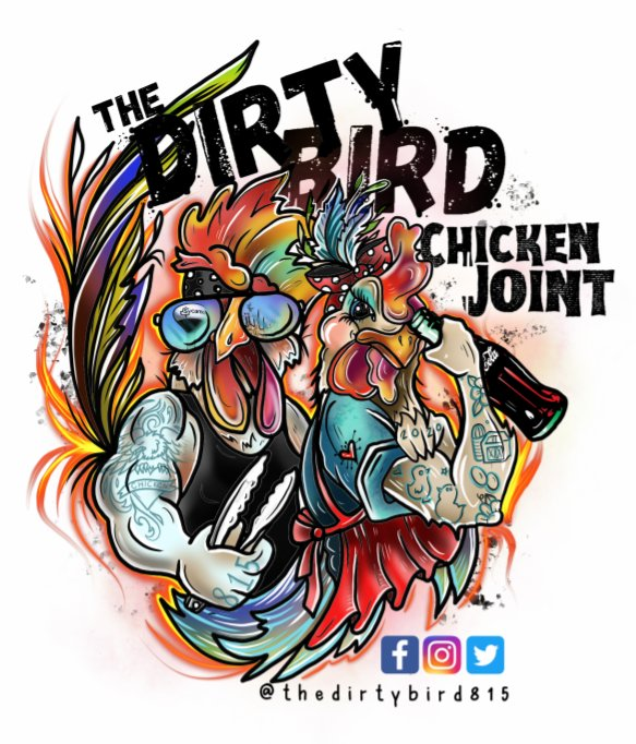 Food from The Dirty Bird Chicken Joint