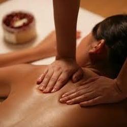 Massage girl photo