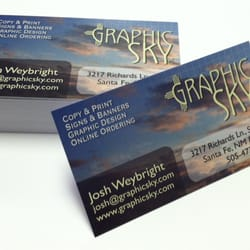 Graphic sky printing 10 photos printing services 3218 calle photo of graphic sky printing santa fe nm united states 1000 semigloss 1000 semigloss business cards reheart Images