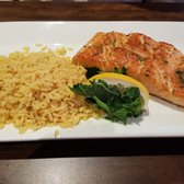 Photo Of Dolphin Seafood Restaurant Natick Ma United States Broiled Salmon And