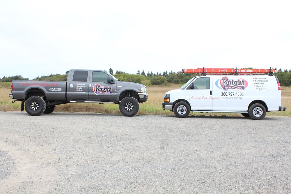 Knight Heating and Cooling: 3251 Woodcock Rd, Sequim, WA